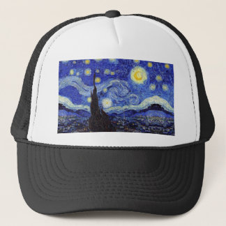 Starry Night  Inspired Van Gogh Classic Products Trucker Hat