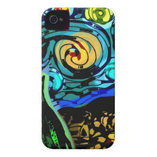Starry Night iPhone 4 Case-Mate Cases