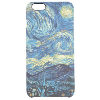 Starry Night iPhone 6/6S Plus Clear Case