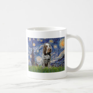 Starry Night - Italian Spinone (roan) Coffee Mug