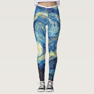starry night leggings