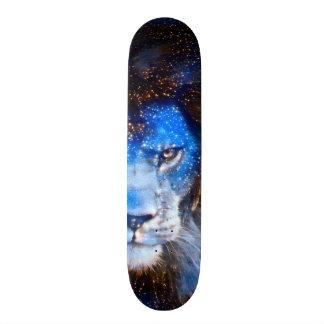 Starry Night Lion Element Zero Pro Banger Board Skateboard Deck