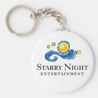 Starry Night Logo Keychain