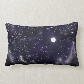 Starry Night Lumbar Pillow