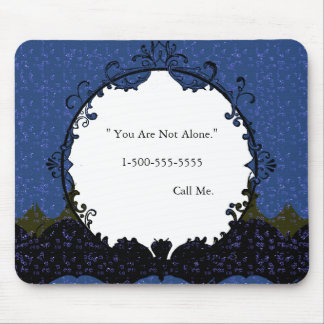 Starry Night-Magic-Love-Mirror-TEMPLATE--Mouse Pad Mouse Pad