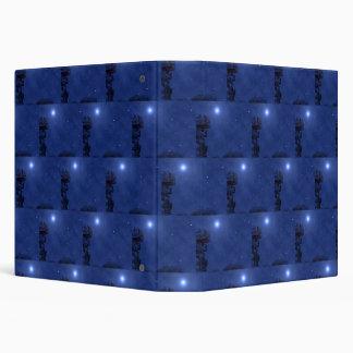 Starry Night Nativity 3 Ring Binder