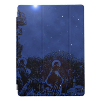 Starry Night Nativity iPad Pro Cover