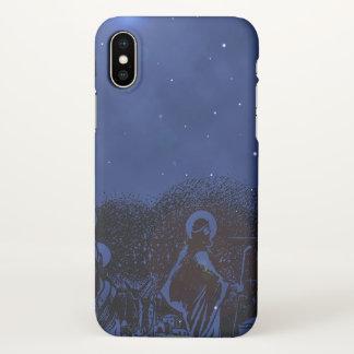 Starry Night Nativity iPhone X Case