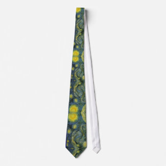 Starry Night Necktie