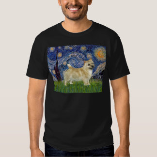 Starry Night - Norwich Terrier Tee Shirts