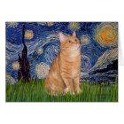 Starry Night - Orange Tabby 46 Card