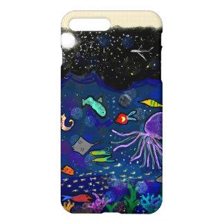 Starry Night over the ocean iPhone 7 Plus Case