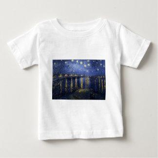 Starry Night Over The Rhône Baby T-Shirt