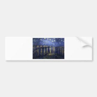 Starry Night Over The Rhône Bumper Sticker