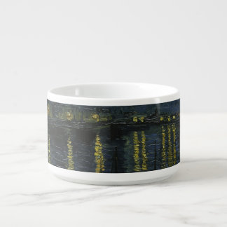 Starry Night Over the Rhone by Van Gogh Bowl