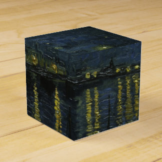 Starry Night Over the Rhone by Van Gogh Favor Box