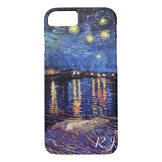 Starry night over the Rhone by Van Gogh iPhone 7 Case