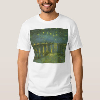 Starry Night Over the Rhone by Vincent van Gogh T Shirts
