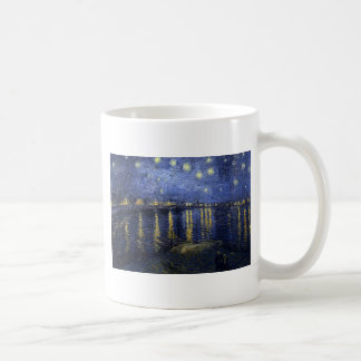 Starry Night Over The Rhône Coffee Mug