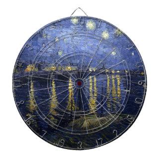 Starry Night Over The Rhône Dartboard