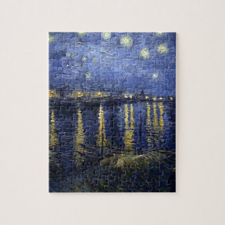 Starry Night Over The Rhône Jigsaw Puzzle