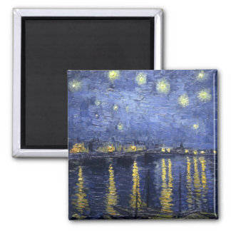 Starry Night Over The Rhone Magnet 3