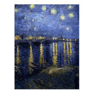 Starry Night Over The Rhône Postcard