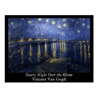 Starry Night Over the Rhone - Van Gogh (1888) Postcard