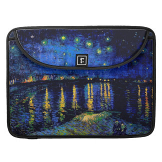 Starry Night Over the Rhone Van Gogh Fine Art Sleeve For MacBooks
