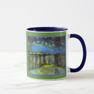 Starry Night Over the River Rhone Van Gogh Mug