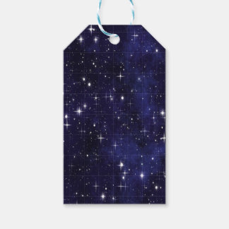 Starry  Night Pack Of Gift Tags