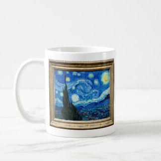 Starry Night Painting By Painter Vincent Van Gogh Coffee Mug
