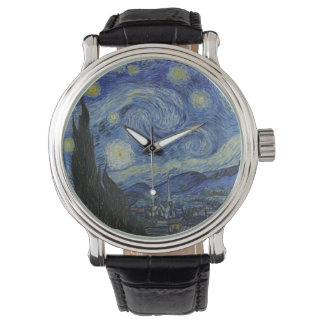 Starry night painting Van Gogh Watch