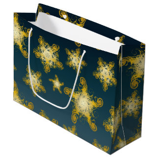 Starry Night pattern Large Gift Bag
