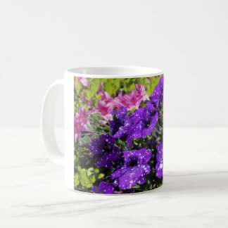 Starry Night Petunia flower mug