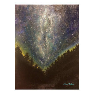 Starry Night Poster Print
