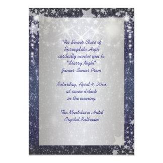 Starry Night Prom Invitations
