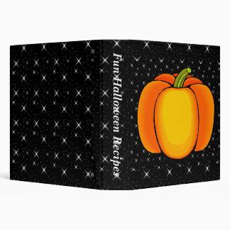 Starry Night Pumpkin Binders