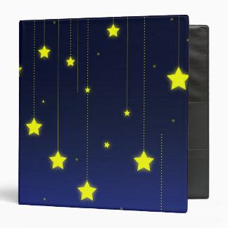 Starry Night ring binder
