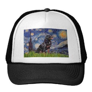 Starry Night - Rottweiler (#6) Trucker Hat