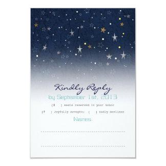 Starry Night RSVP Card