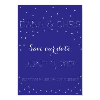 Starry Night Save the Date Invitation