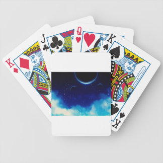 Starry Night Sky Bicycle Playing Cards