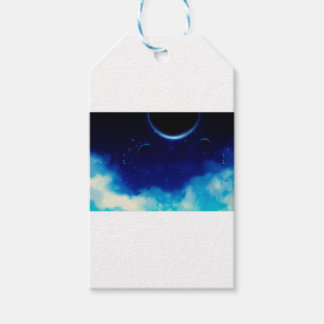 Starry Night Sky Gift Tags