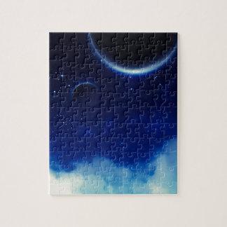 Starry Night Sky Jigsaw Puzzle
