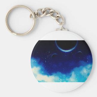Starry Night Sky Keychain