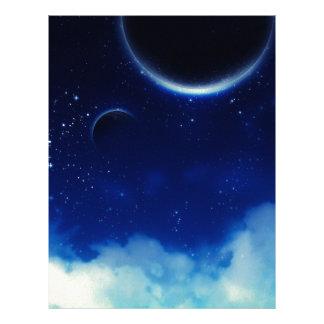 Starry Night Sky Letterhead
