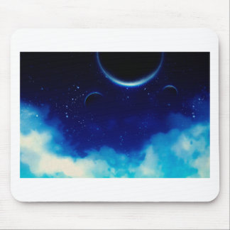 Starry Night Sky Mouse Pad