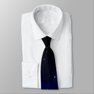 Starry Night Sky Tie