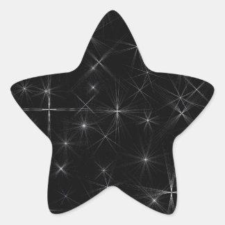 Starry night star sticker